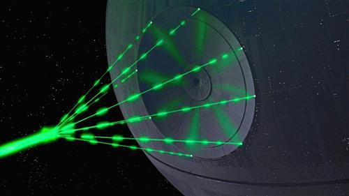 Death-star-laser