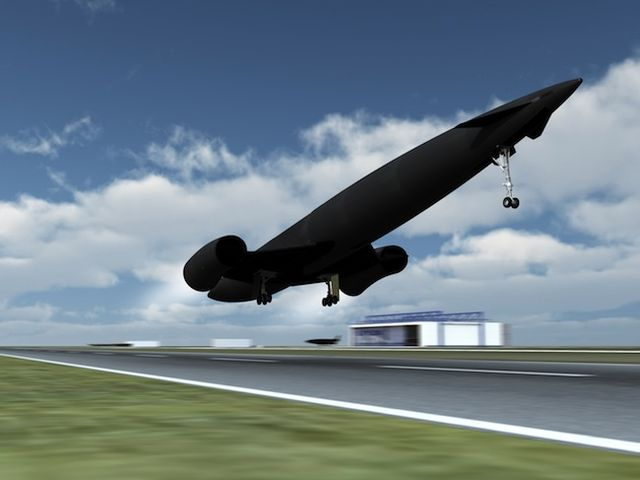 Skylon_takeoff