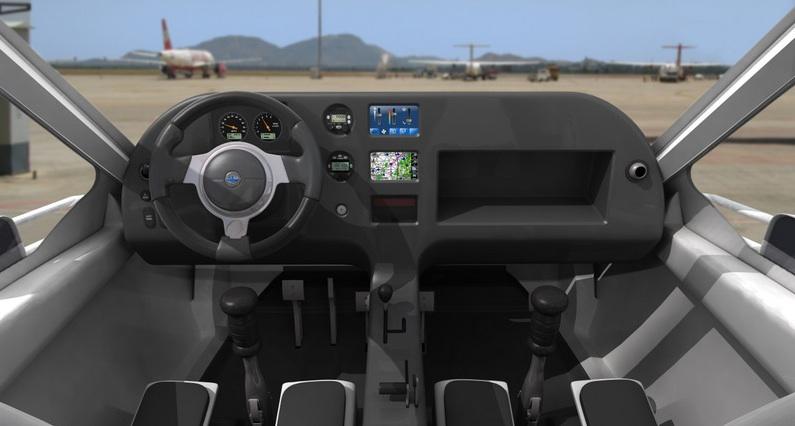 Terrafugia.cockpit