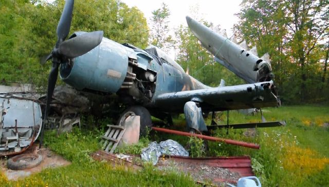 Ww2 Abandoned Or Crashed Aircraft http://telstarlogistics.typepad.com/telstarlogistics/2010/11/a-haunting-video-of-an-abandoned-airplane-graveyard.html