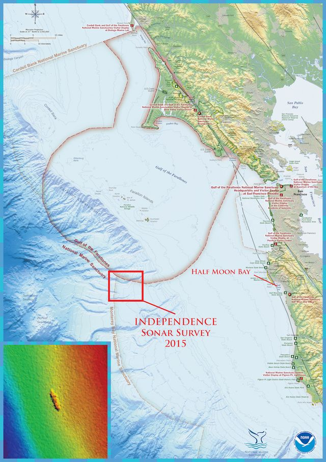 Chart-survey-region-multibeam