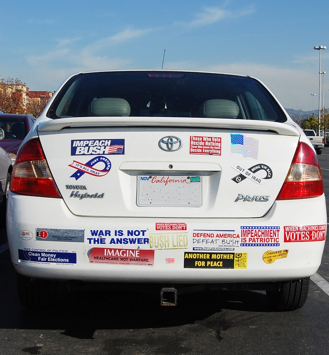 An ad hoc symposium on bumper sticker liberalism and the quantitative virtues of the toyota prius