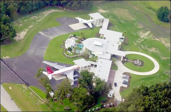 Exploring John Travolta's Airport Home