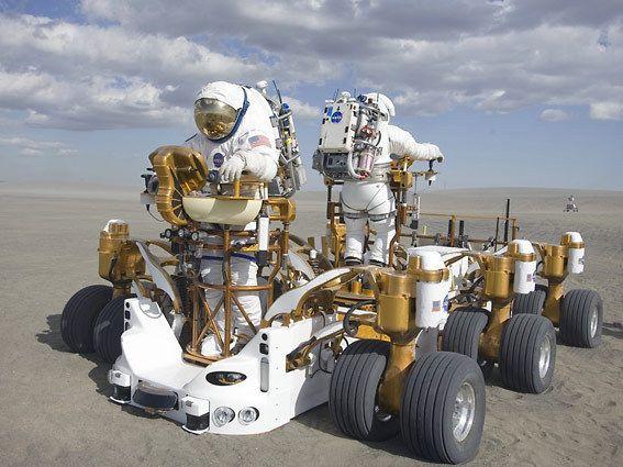 NASA's Moon Truck Goes for a Test Drive - Telstar Logistics